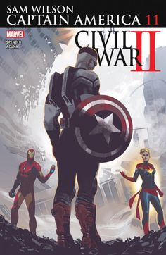 superheroesincolor:  Captain America: Sam Wilson #11 (2016)...
