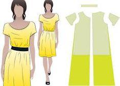 Картинки по запросу платье из марлевки выкройка