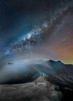 """Silent Night"" >Milky way                              …"