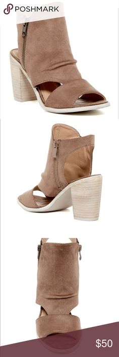 Rebels Cutout Bootie New with box. Available in two colors. Tan - Size 6.5, 8 Black - Size 7 Shoes Ankle Boots & Booties