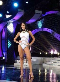 Andrea Rosales Miss Amazonas en su Desfile en Traje de Baño en el Miss Venezuela 2015..