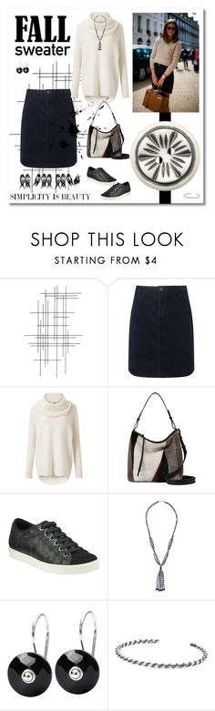 """""""Fall Sweater"""" by likepolyfashion ❤ liked on Polyvore featuring Crate and Barrel, John Lewis, Miss Selfridge, AllSaints, John Lewis Designed for Comfort, Trollbeads and fallsweaters"""