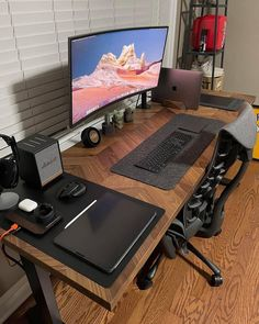 Simple and organized 👌Dope or nope? 🤔 Comment down below ⬇️ Via 📸 hyunsbuns Check out gamingapt300.com for accessories, decor, and posters for your gaming room!  #gamer #gaming #geforce #razer #pc #gamingpc #pcsetup #funkopop #pcmr #pcmasterrace #instatech #watercooling #gamingislife #gamingcommunity #gamerforlife #nvidia #rgb #twitchstream #popfunko #ps4 #gaminglife #watercooled #monitor #streamer #twitchstreamer #pcgaming #gamingsetups #gamingsetup #pcgamer #gamerpc
