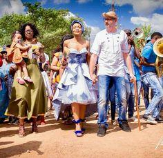 Dress African Bridesmaid Dresses, African Wedding Dress, Wedding Bridesmaid Dresses, African Weddings, Xhosa Attire, African Attire, African Dress, African Traditional Wedding, Traditional Wedding Dresses