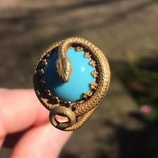 Victorian Snake Hatpin Unique Antique Hat Pin Vintage