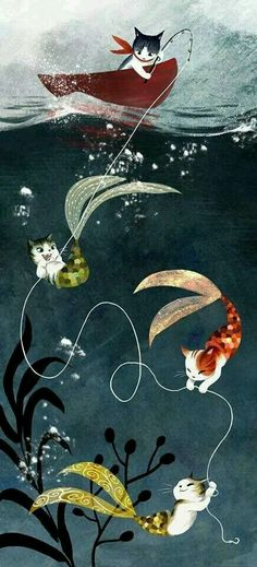 Merkitty cats