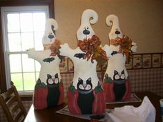 I know this is halloween but I'am new to pinerest and this is just some of things that I and my friend (Kim) and my sister (Janet) make and sell .
