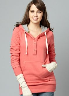 Fleece Lined Breastfeeding Hoodie $69.95 - Up to 50% off plus get the 3rd free
