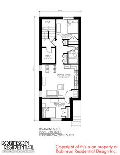 Craftsman (with Suite) - Robinson Plans Craftsman Style Exterior, Small Bungalow, Basement House Plans, Income Property, In Law Suite, Home Pictures, Maine House, Decor Styles, Living Spaces
