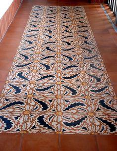 Tile at El Andaluz by Jeff Shelton Architect