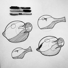 Tea pots with a more practical handle. #designsketching #idsketching #industrialdesign #design #sketch #sketching #sketchbook #productdesign #process #sketchaday #id #ideas