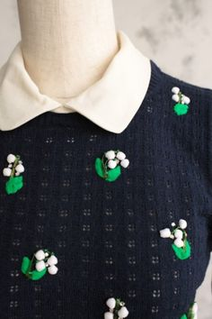 lily of the valley applique
