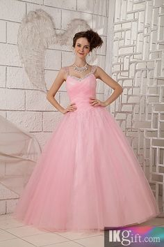 I like this - Charming Ball Gown Sweetheart Floor-length Tulle Ruffles Homecoming dress. Do you think I should buy it?
