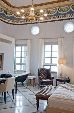 The Efendi Hotel: an Israeli hotel overlooking the Mediterranean Sea | Design*Sponge