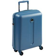 #blue #Hélium #suitcase #Delsey