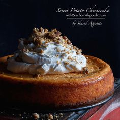 I didn't like sweet potatoes growing up. Cheesecake either. I know, I wasn't a smart kid. Now I'm…