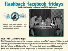 Each week during 2013, we will feature a flashback photo and share our history. Please share these weekly postings with your friends and family and join us in celebrating our 125th anniversary.  Week-5 Zehnder family takes ownership