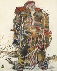 Georg Baselitz, Ein Roter, 1966