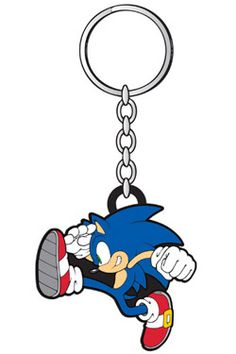 Sonic - The Hedgehog Rubber Keychain Sonic Rubber Keychain, Anime Merchandise, Sonic The Hedgehog, Gaming, Videogames, Games, Game