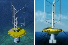 combined wind and water turbine via inhabitat