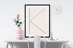 Letter K   ► Letters & Symbolen   Postersinhuis.nl