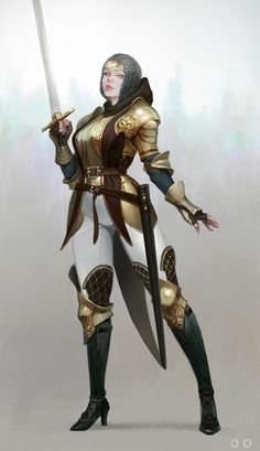 ArtStation - Knight, ㅇㅇ Joo