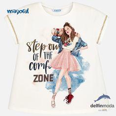 7e302af97 Camiseta manga corta MAYORAL niña juvenil