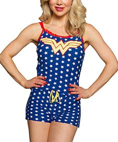 Wonder Woman Romper - Women by Wonder Woman #zulily #zulilyfinds