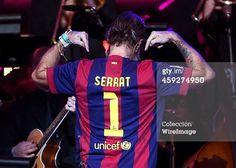 Jarabe de Palo con su inseparable camiseta del Barça en estos premios.