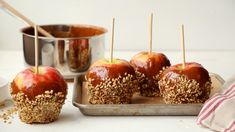 Recipe of the Day: Caramel Apples  Save the recipe 👍