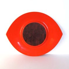 Dansk Festivaal Red / Huge Orange Lacquer by MothEatenDeerHead, $160.00