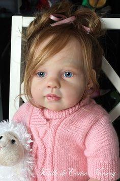 Feuille de Cerise Nursery - reborn baby toddler Louisa Jannie de Lange ADORABLE | eBay