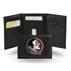 Florida State Seminoles Embroidered Leather Trifold Wallet