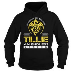 TILLIE An Endless Legend (Dragon) - Last Name, Surname T-Shirt