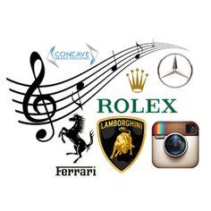 Brands in 2014 music lyrics