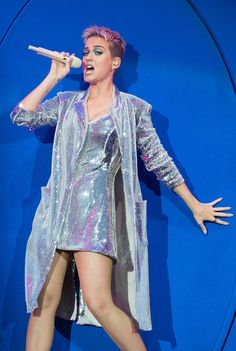 Katy Perry from The Big Picture: Today's Hot Photos  Shine on! The singer performs at BBCRadio 1's Big Weekend.