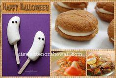 It's Written on the Wall: 25 Halloween Treat/Dessert Ideas for School & Home Parties