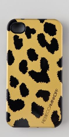 We <3 this @rebeccaminkoff iPhone case