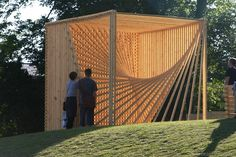 wooden structures | ORGANIC CUBE Space Design by danish architect Søren Korsgaard ...