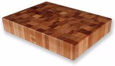 Maple End Grain 20 x 15 Inch Stylish Chopping Block High-End Cutting Board  #MichiganMapleBlock