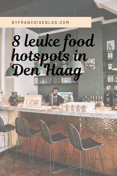 8 superleuke food hotspots in Den Haag Utrecht, Rotterdam, Travel Netherlands, Train Tickets, The Hague, Travel List, Train Travel, Holland, Spaces