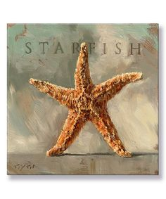 Look what I found on #zulily! 'Starfish' Gallery-Wrapped Canvas #zulilyfinds