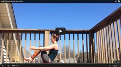 Boat pose + Talking Heads + Sunshine = this super fun core sequence. Watch full video at www.bewellyogalifestyle.com #yoga #yogaeverydamnday