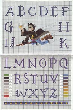 Mais Harry Potter ~ Gráficos ponto cruz da drica