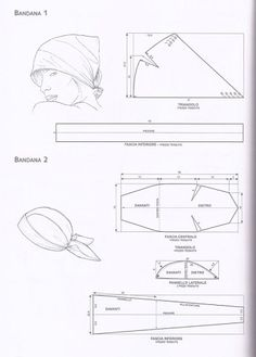 Club season ru index php act=attach type=post Sewing Hacks, Sewing Projects, Scrub Hat Patterns, Head Wraps For Women, Scrub Hats, Pattern Drafting, Hat Making, Pattern Making, Embroidery Designs