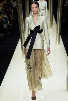 Armani Privé - jacket & bow <3