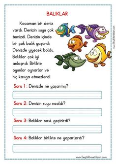 Untitled – My Pins Page Learn Turkish Language, Learn A New Language, Turkish Lessons, Silly Pictures, 1st Grade Worksheets, Preschool Printables, Class Activities, Reading Passages, Stories For Kids