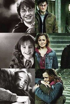 Harry and Hermione, as FRIENDS
