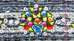 Embroidery detail from a handwoven Guatemalan textile. Origin: Sumpango, Sacatepéquez. #embroidery #textile #guatemala #sumpango #sacatepequez