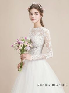 60 Stunning Wedding Dresses Ideas For You « Loeyy Muslim Wedding Dresses, Stunning Wedding Dresses, Wedding Dress Sleeves, Dream Wedding Dresses, Bridal Dresses, Bridesmaid Dresses, Muslim Brides, Muslim Couples, Wedding Outfits